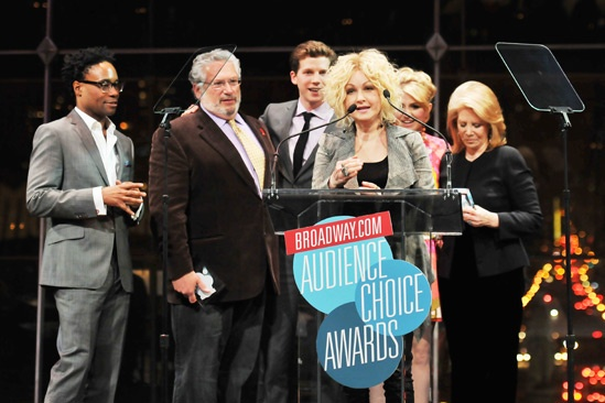 2013 Audience Choice Awards Ceremony — Billy Porter — Harvey Fierstein — Stark Sands — Cyndi Lauper — Annaleigh Ashford — Daryl Roth