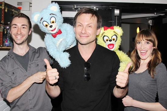 Christian Slater - Avenue Q - Jason Jacoby - Christian Slater - Lexy Fridell