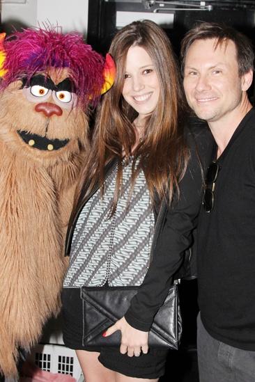 Christian Slater - Avenue Q - Brittany Lopez - Christian Slater