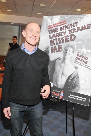The Night Larry Karmer Kissed Me - Meet & Greet - David Drake
