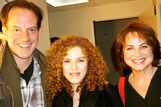 Courtney B. Vance Backstage at 'Lucky Guy' — Danny Mastrogiorgio — Bernadette Peters — Deirdre Lovejoy