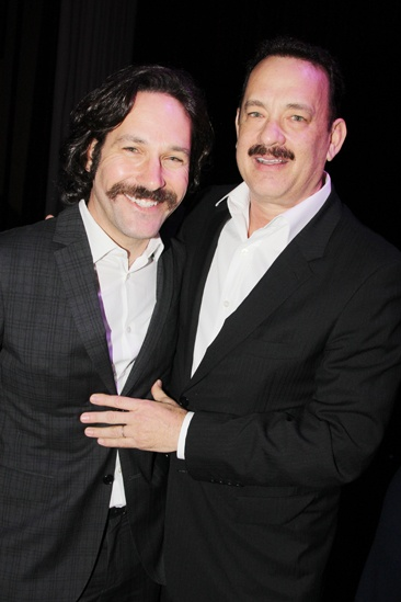 2013 Drama League Awards Luncheon — Paul Rudd — Tom Hanks
