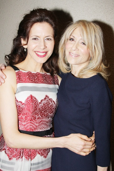 2013 Drama League Awards Luncheon — Jessica Hecht — Judith Light