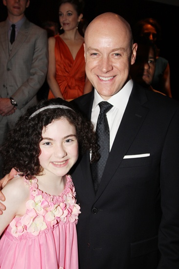 2013 Drama League Awards Luncheon — Lilla Crawford — Anthony Warlow