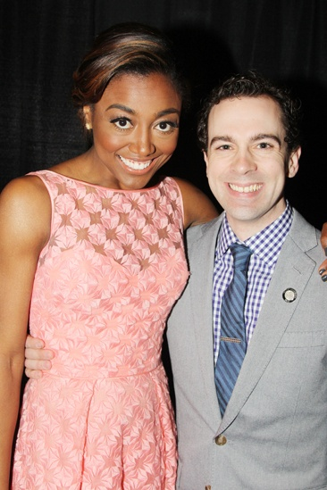2013 Drama League Awards Luncheon — Patina Miller — Rob McClure