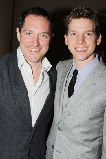 2013 Drama League Awards Luncheon — Bertie Carvel — Stark Sands