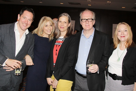 2013 Drama League Awards Luncheon — Bertie Carvel — Judith Light — Amy Morton — Tracy Letts — Kristine Nielsen