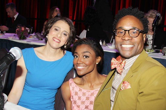 2013 Drama League Awards Luncheon — Judy Kuhn — Patina Miller — Billy Porter