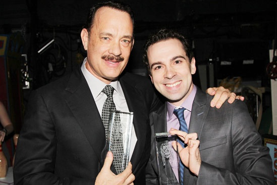 2013 Theatre World Awards — Tom Hanks — Rob McClure