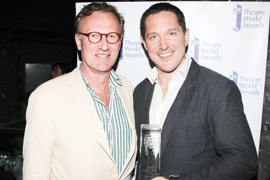 2013 Theatre World Awards — Daniel Gerroll — Bertie Carvel