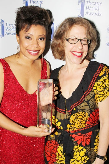 2013 Theatre World Awards — Shalita Grant — Jackie Hoffman