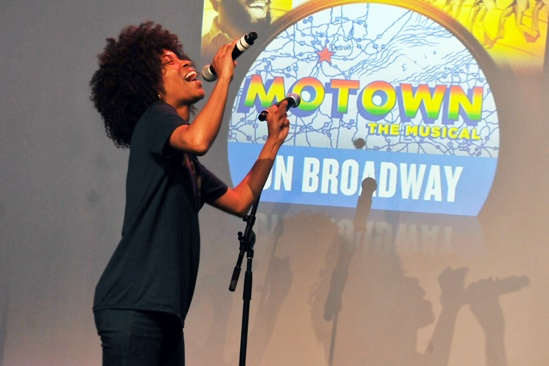 'Motown' at SoHo Apple Store— Valisia LeKae