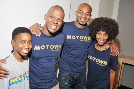 'Motown' at SoHo Apple Store— Raymond Luke Jr. — Ryan Shaw — Brandon Victor Dixon — Valisia LeKae