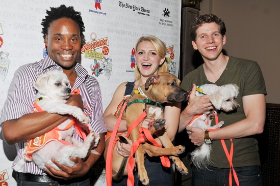 Broadway Barks 2013 — Billy Porter — Annaleigh Ashford — Stark Sands