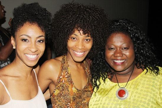 'Motown' Actors Fund — Allison Semmes — Valisia LeKae — Maia Nkenge Wilson