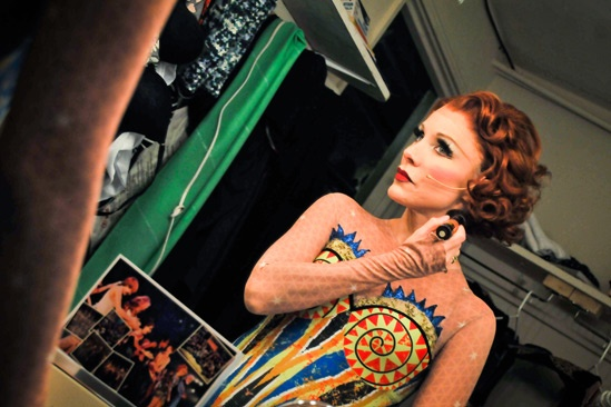 Pippin – Backstage Photos – Charlotte d'Amboise
