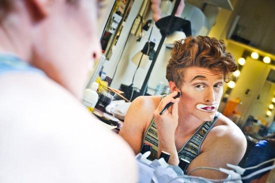 Pippin – Backstage Photos – Philip Rosenberg