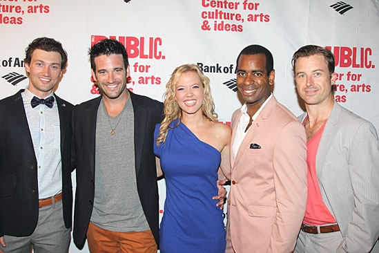 'Love's Labour's Lost' Opening — Bryce Pinkham — Colin Donnell — Patti Murin — Daniel Breaker — Lucas Near-Verbrugghe
