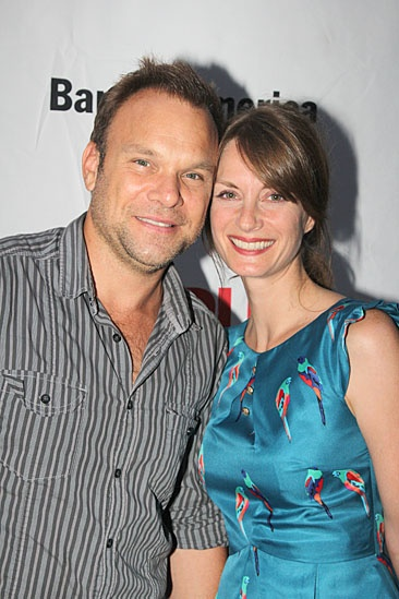'Love's Labour's Lost' Opening — Norbert Leo Butz — Michelle Federer