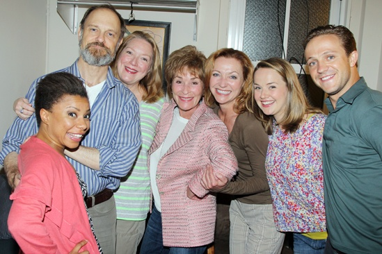 Judge Judy - Vanya and Sonia and Masha and Spike - Shalita Grant - David Hyde Pierce - Kristine Nielsen - Judith Sheindlin - Julie White - Liesel Allen Yeager - Creed Garnick