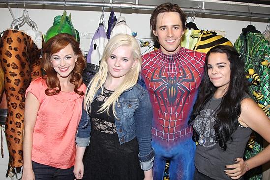 Abigail Breslin - Spider-Man - Kristen Martin - Abigail Breslin - Reeve Carney - Noelle Yaturo