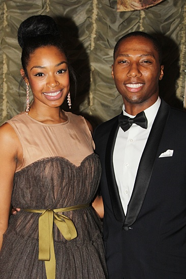 American Theatre Wing – Hal Prince Gala 2013 – Chantel Riley - Aaron Nelson