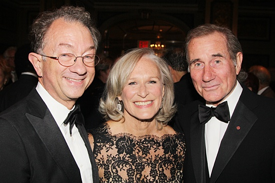 American Theatre Wing – Hal Prince Gala 2013 – William Ivey Long – Glenn Close – Jim Dale