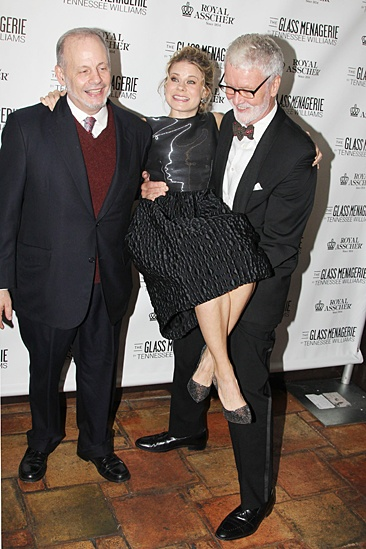 'The Glass Menagerie' Opening — Jeffrey Richards — Celia Keenan-Bolger — John N. Hart Jr.