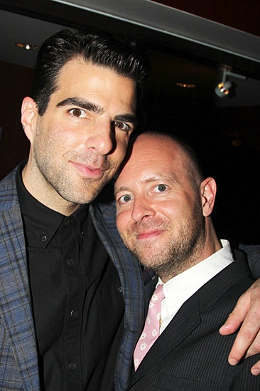'The Glass Menagerie' Opening — Zachary Quinto — John Tiffany
