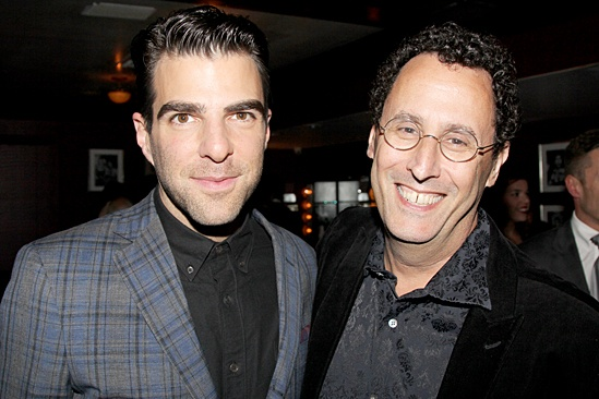 'The Glass Menagerie' Opening — Zachary Quinto — Tony Kushner