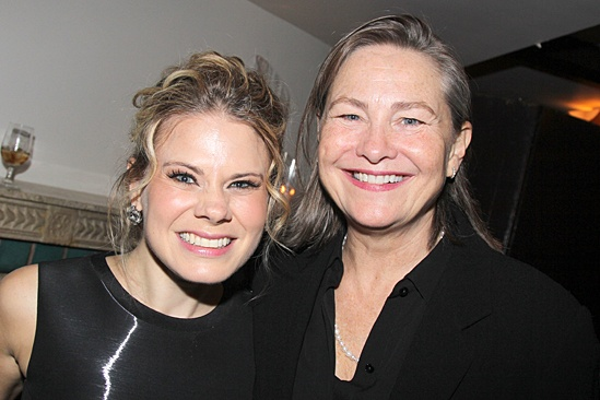 'The Glass Menagerie' Opening — Celia Keenan-Bolger — Cherry Jones