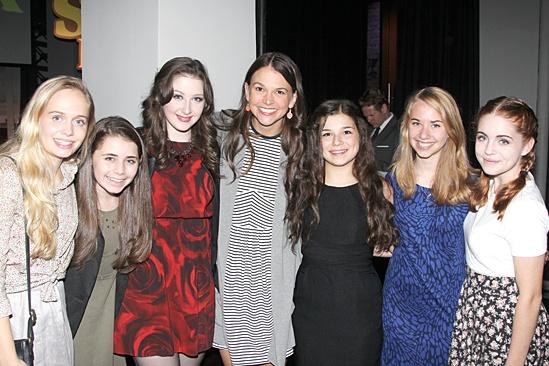 Shrek – DVD Release Party – Tessa Albertson – Rachel Resheff – Marissa O'Donnell – Sutton Foster – Maya Goldman – Leah Greenhaus – Rozi Baker