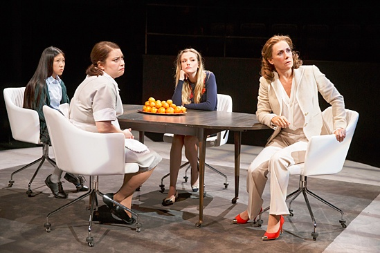 <I>Domesticated</I>: Show Photos - Misha Seo - Vanessa Aspillaga - Emily Meade - Laurie Metcalf