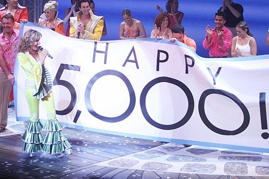 Mamma Mia – 5,000 performance – Judy McLane