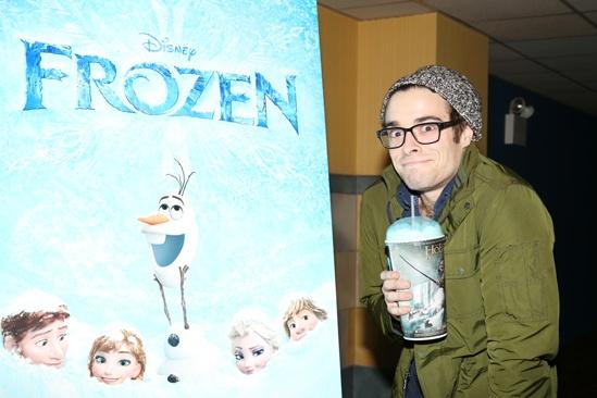 Frozen – Newsies Screening – Corey Cott