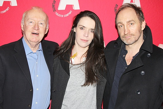 The Night Alive opening night – Jim Norton – Caoilfhionn Dunne – Michael McElhatton
