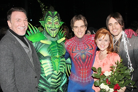 Spider-Man – Final Performance – Patrick Page – Robert Cuccioli – Justin Matthew Sargent – Rebecca Faulkenberry – Reeve Carney