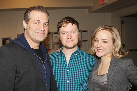 Hand to God - Meet and Greet - Marc Kudisch - Steven Boyer - Geneva Carr