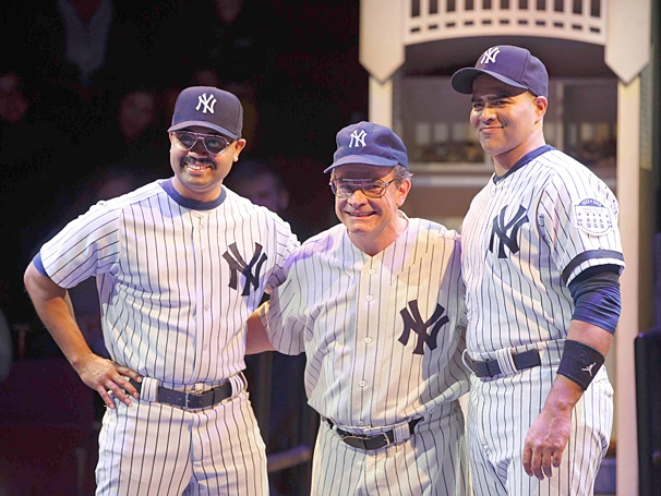 Bronx Bombers - Show Photos - Francois Battiste - Peter Scolari - Christopher Jackson