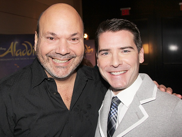 Aladdin - Meet and Greet - OP - Casey Nicholaw - Chad Beguelin