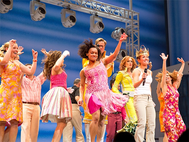 Mamma Mia - 5,000th Performance - OP - 3/14 - Elana Ricardo - cast