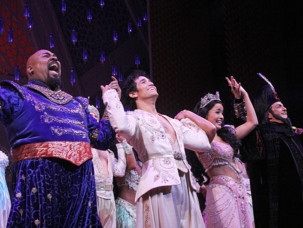 Aladdin - Opening - OP - 3/14 - James Monroe Iglehart - Adam Jacobs - Courtney Reed - Jonathan Freeman