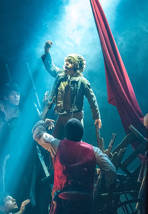 Les Miserables - Show Photos - 3/14 - Gaten Matarazzo