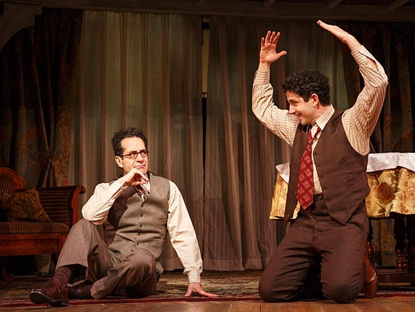 Act One - Show Photos - PS - 4/14 - Tony Shalhoub - Santino Fontana