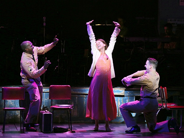 Colin Donnell - Joshua Henry - Sutton Foster