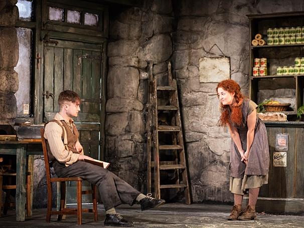 The Cripple of Inishmaan - Show Photos - PS - 4/14 - Daniel Radcliffe - Sarah Greene