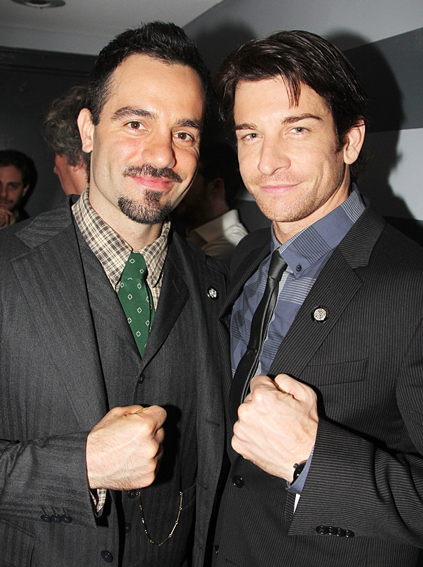 Meet the Nominees – OP – 4/14 – Ramin Karimloo – Andy Karl