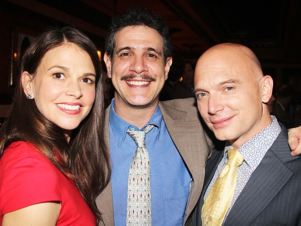 Drama Circle Awards - OP - 5/14 - Sutton Foster - Adam Feldman - Michael Cerveris