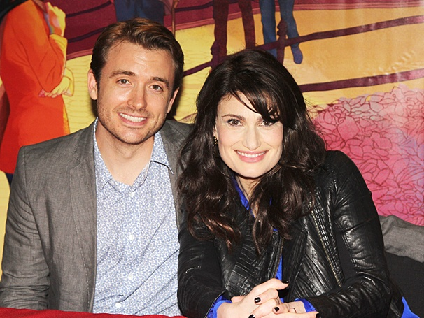If/Then - Signing - OP - 6/14 - James Snyder  - Idina Menzel