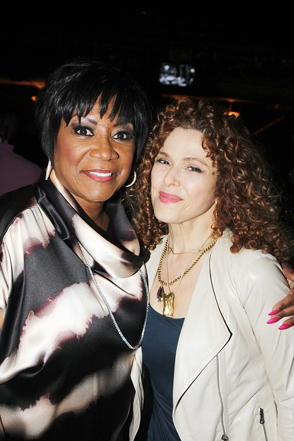 After Midnight - Backstage - OP - 6/14 - Patti LaBelle - Bernadette Peters
